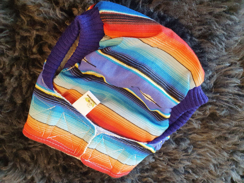Streifen Überhose Medium Klett + Komfortbündchen